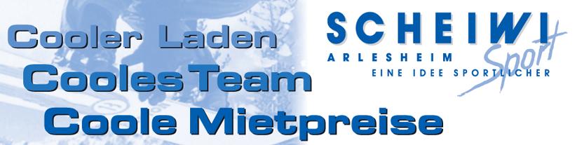 Scheiwi-Sport Ski- Carve und Boardspezialist